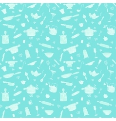 Seamless pattern - my kitchen 2 vector