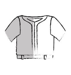 Sport wear clothes icon vector