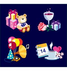 toy icon colour vector image
