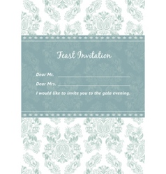 vector pattern and frame template vector image