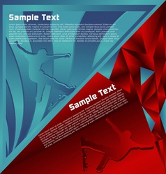 Modern abstract vector