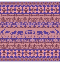 African texture vector image vector image