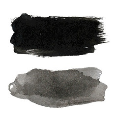 Black Blots Set vector image
