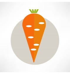 Carrot yummy vector