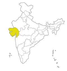 Gujarat vector
