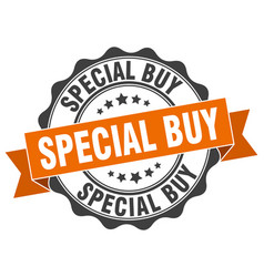 Special buy stamp sign seal vector
