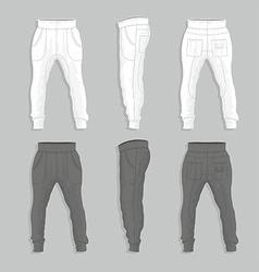 Sweatpants vector