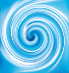 Background of blue swirling texture vector