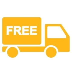 Free delivery icon from business bicolor set vector