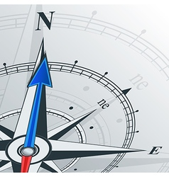 Compass north vector