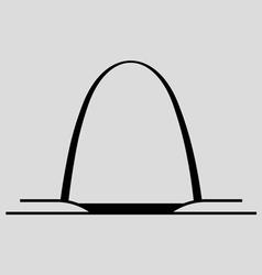 Gateway arch vector