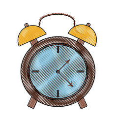 alarm clock icon image vector image
