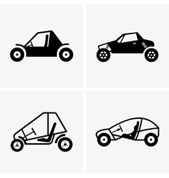Dune buggy vector image vector image
