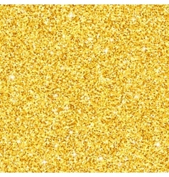 Gold glitter seamless pattern texture vector image vector image