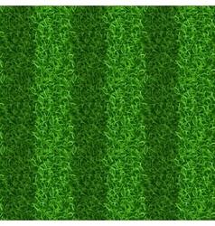 Striped green grass field seamless texture vector
