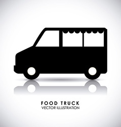 van design vector image