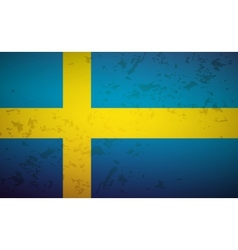 Flag sweden vector