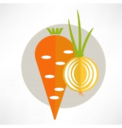 Carrot yummy vector