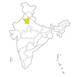 Haryana vector