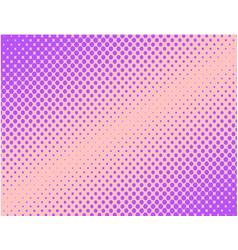 Violet pop art comic halftone background vector