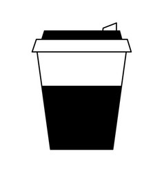 Coffee cup sleeve icon imag vector
