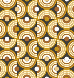 circle background pattern vector image vector image
