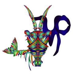 Horoscope Capricornus vector image vector image
