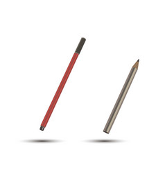 icon pen writing pencil tools design isolated old vector image vector image
