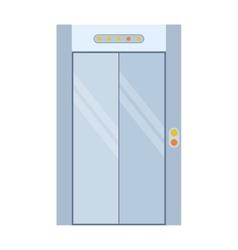 Lift door isolated vector image