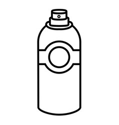 spray deodorant icon outline style vector image vector image