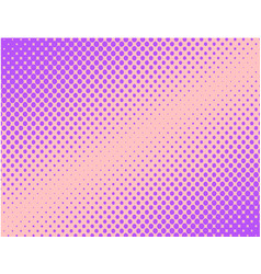 Violet pop art comic halftone background vector