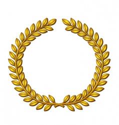 Wreath of laurels vector