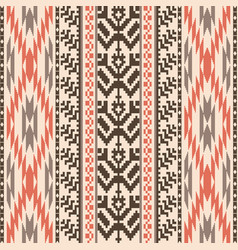 ethnic style textile seamless pattern vector image
