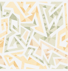 White maze seamless pattern vector