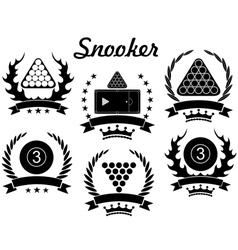 Snooker vector