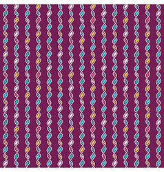 Tangled knitted pattern vector