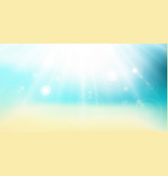 Abstract gradient backdrop panorama beach sea and vector