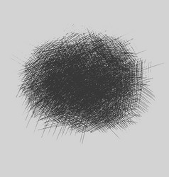 Grunge rough hatching drawing textures set vector