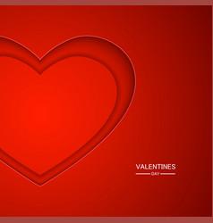 Modern valentines day background vector