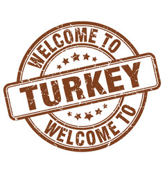 Welcome to turkey vector