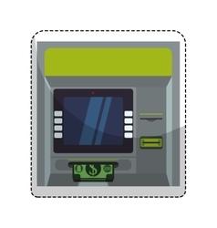 atm icon image vector image