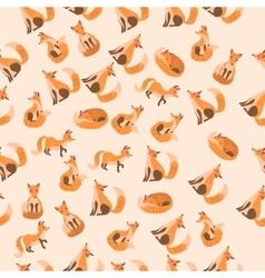 A cute fox vector