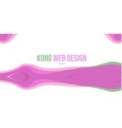 Pink design abstract header website vector