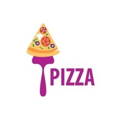 Pizza logo vector