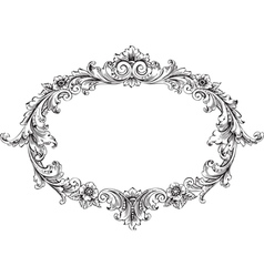 Victorian Frame vector image