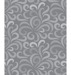 Swirl shape pattern seamless two tone vector