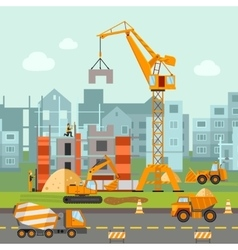 Building work vector