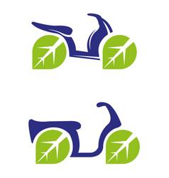 electricbike vector image vector image