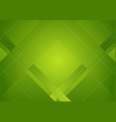 Green abstract geometric minimal background vector