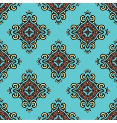 Seamless tiled pattern design vector